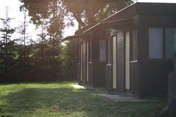 chatky v kempu Dřevěnice